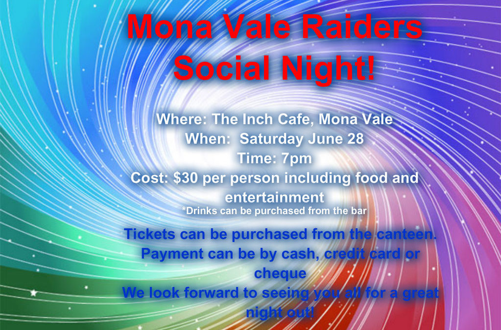 Raider's Social Night