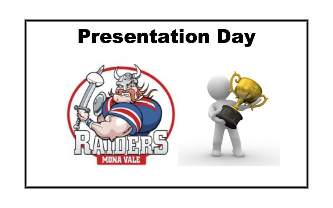 2019 Presentation & AGM Day