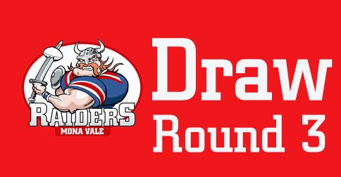 Updated – Round 3 Draw – 2020