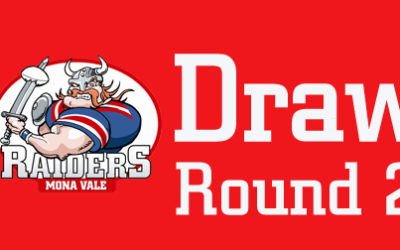 Updated – Round 2 Draw – 2020