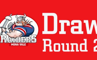 Updated – Round 2 Draw – 2020