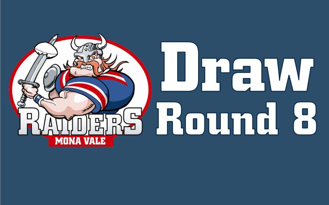 Round 8 Draw – 2018