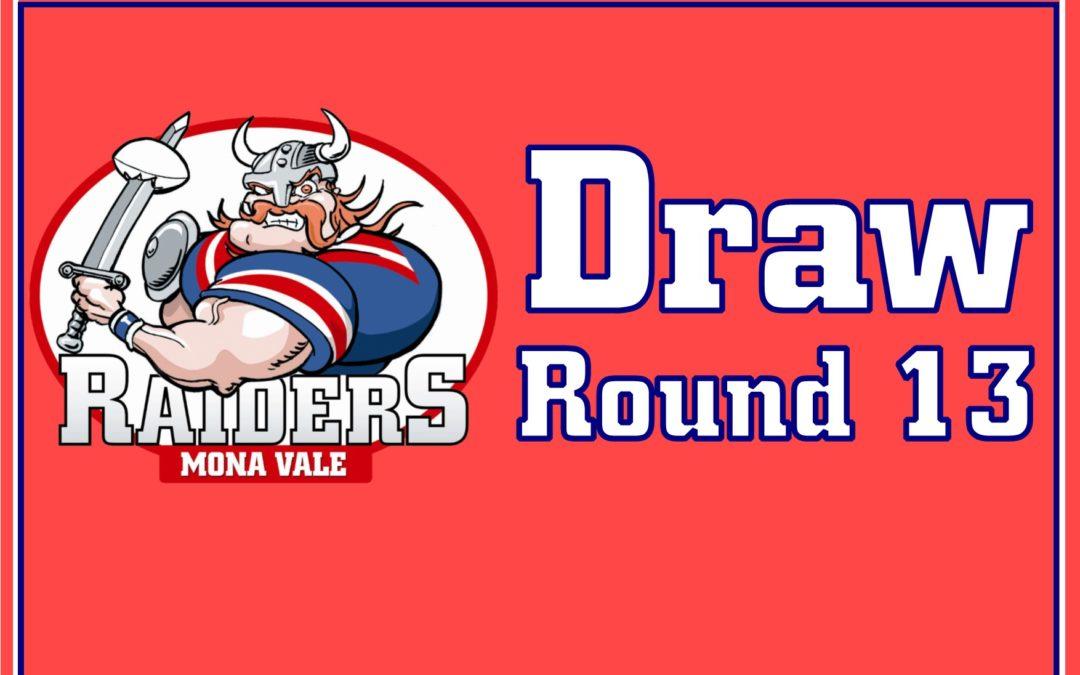 Round 13 Draw – 2018