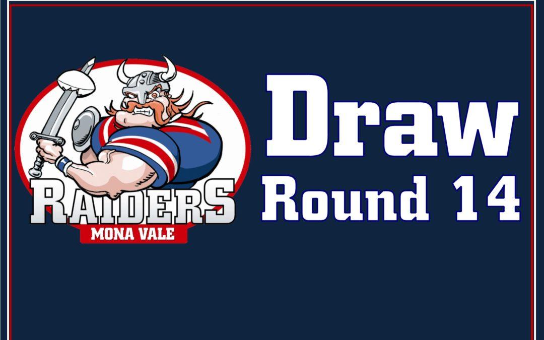 Round 14 Draw – 2019