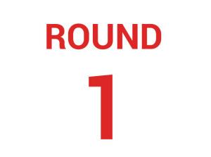 Round 1 Draw – 2018