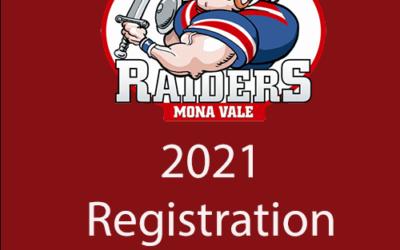 2021 Season Registration is now open